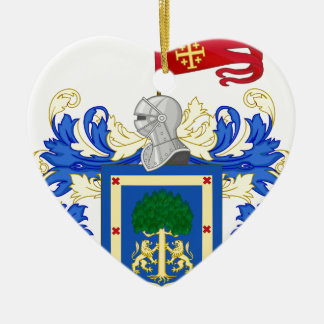 Coat_of_Arms_of_Guadalajara_ (Mexiko) Keramik Ornament
