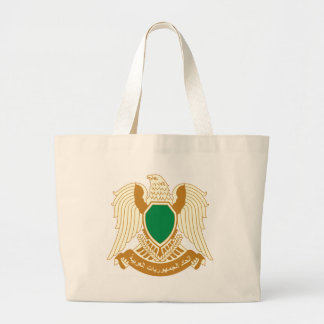 Coat_of_arms_of_Libya_ (1977-2011) Jumbo Stoffbeutel