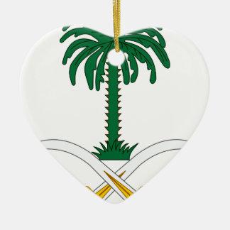 Coat_of_arms_of_Saudi_Arabia Keramik Herz-Ornament