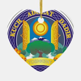 Coat_of_Arms_of_Tashkent Keramik Herz-Ornament