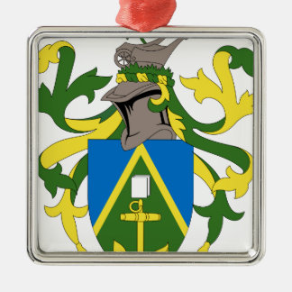 Coat_of_arms_of_the_Pitcairn_Islands Quadratisches Silberfarbenes Ornament