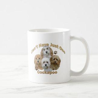 Cockapoo kann gerade eins nicht haben Geschenke Kaffeetasse
