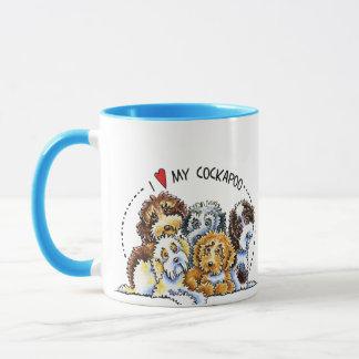 Cockapoo Liebhaber Tasse
