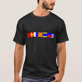 Code-Flagge Brayden T-Shirt