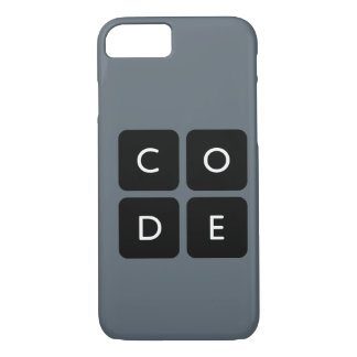 Code.org-Logotelefonkasten iPhone 8/7 Hülle