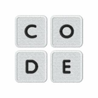 Code org stickte Logo-Polo