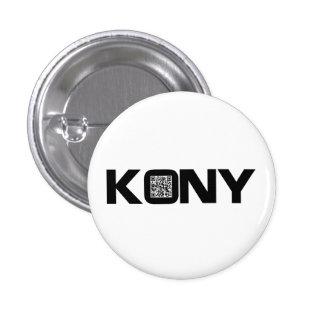 Code visuel Joseph Kony de Kony 2012 QR Badges Avec Agrafe