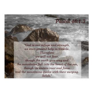 Codierte Karte des Psalm-46 der Schrifts-1-3
