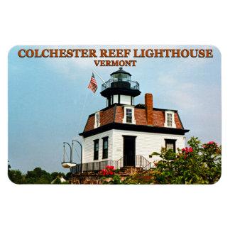 Colchester Riff-Leuchtturm, Magnet Vermonts Flexi