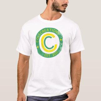 Colecreations stellte T-Stück her (Grün u. Gelb) T-Shirt