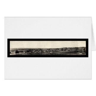 Colfax Iowa Panorama-Foto 1907 Karte