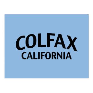 Colfax Kalifornien Postkarte