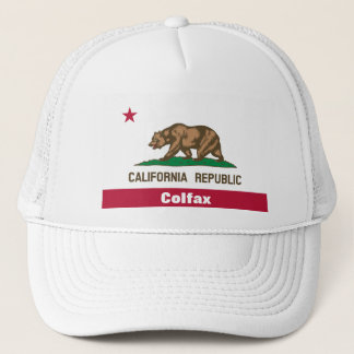 Colfax Stadt Kalifornien Truckerkappe