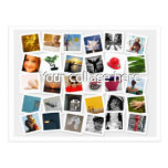 Collage de carte postale