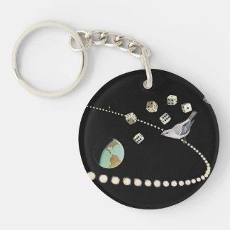 Collage keychain schlüsselanhänger