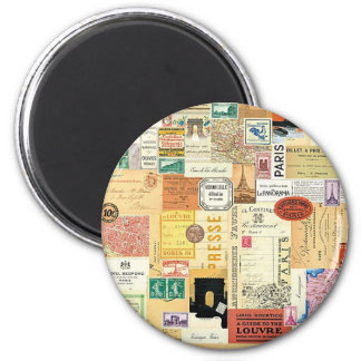 Collage Viajes - Magnet