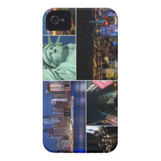 Collagen-Foto Cityscape New York City NYC iPhone 4 Case-Mate Hüllen