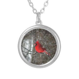 collier avec la photo du cardinal masculin