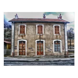 Collonges Ain Frankreich Gebäude-Struktur Postkarte