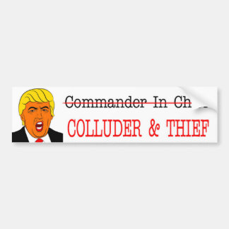 COLLUDER u. THIEF-NOT Kommandant - herein - Leiter Autoaufkleber