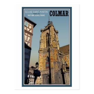 Colmar- - St- Martinskirche Postkarten