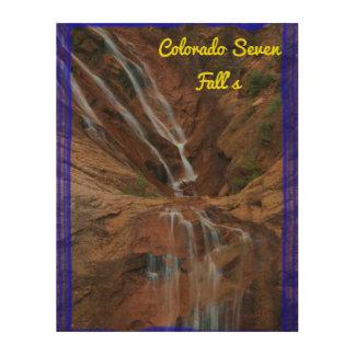 """Colorado 11"""" sieben Falles"""" hölzerne Kunst der"""