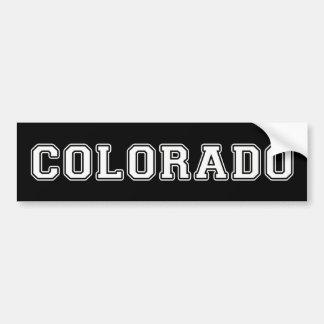 Colorado Autoaufkleber