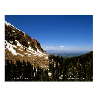 Colorado-Berge Postkarte