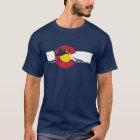 Colorado-Flaggen-T - Shirt - Skydive - Skydiving