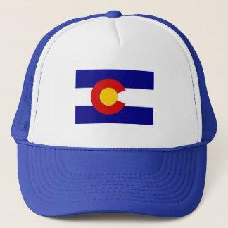 Colorado-Flaggenfernlastfahrerhut Truckerkappe