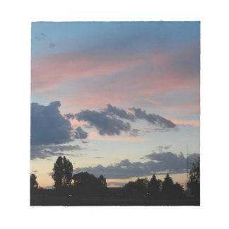 Colorado-Himmel Notizblock