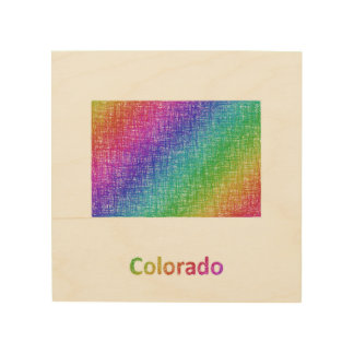 Colorado Holzwanddeko