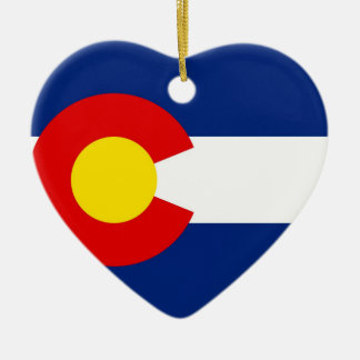 Colorado Keramik Ornament