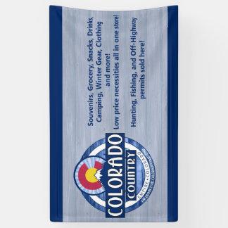 Colorado-Landfahnenzeichen Banner