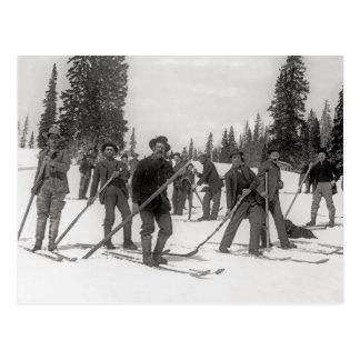 Colorado Skiers, 1910 Postkarte