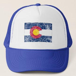 Colorado-Staats-Flagge Vintag Truckerkappe