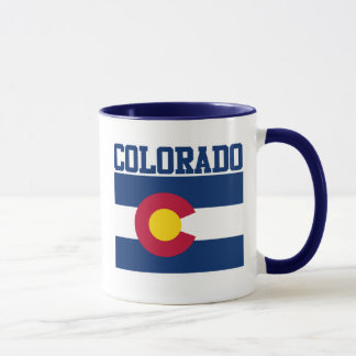Colorado-Staats-Flaggen-Tasse Tasse