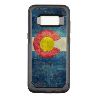 Colorado-Staatsflagge mit Vintagem retro grungy OtterBox Commuter Samsung Galaxy S8 Hülle