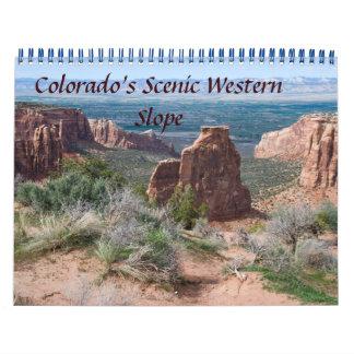 Colorados landschaftlicher wandkalender