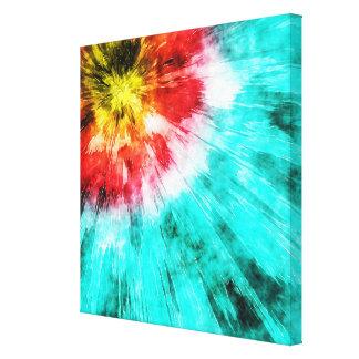 Colorant coloré de cravate impressions sur toile