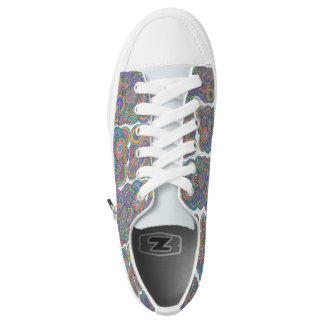 colorblocks niedrig-geschnittene sneaker