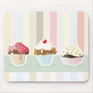 colorful cupcake mousepad