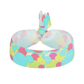 Colorful dots haargummi