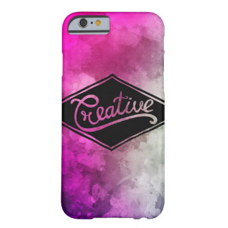 Colorful heiratet creative pink violet barely there iPhone 6 hülle