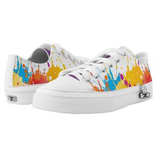 ColorSplat Mehrfarben Niedrig-geschnittene Sneaker