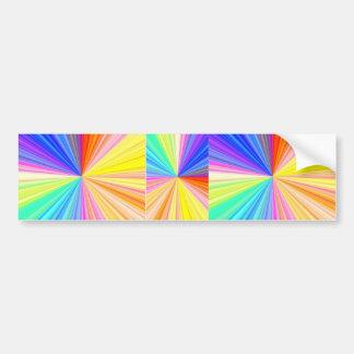 ColorWheel Schein - genießen Sie n-Anteil-Freude Autoaufkleber