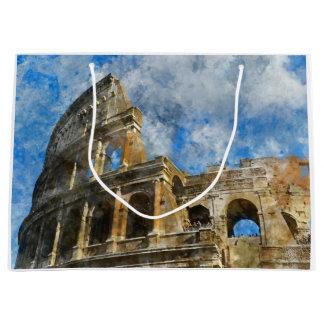 Colosseum in altem Rom Italien Große Geschenktüte