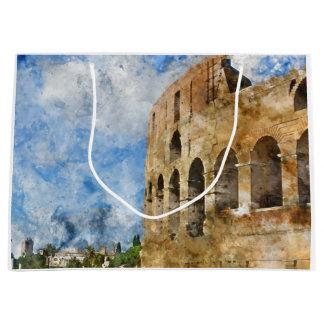 Colosseum in Rom, Italien Große Geschenktüte