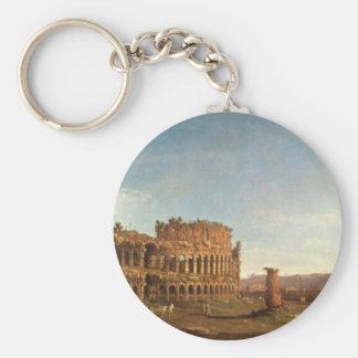 Colosseum und Bogen von Constantine (Rom) Schlüsselanhänger