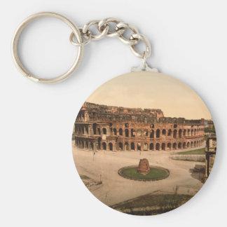 Colosseum und Meta- Sudans, Rom, Italien Schlüsselanhänger